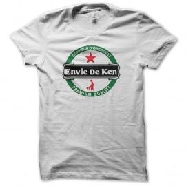 Shirt envie de ken parodie heineken blanc pour homme et femme