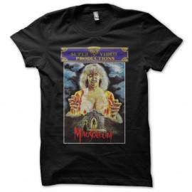 Shirt Mausoleum noir pour homme et femme