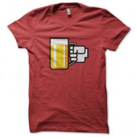 Shirt biere parodie logo facebook pour homme et femme