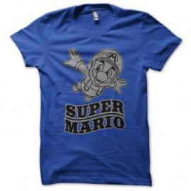 Shirt super mario bleu pour homme et femme