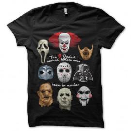 Shirt Badest masks noir pour homme et femme
