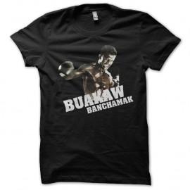 Shirt Buakaw banchamak noir pour homme et femme