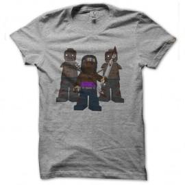 Shirt michonne et ses freres en lego gris pour homme et femme
