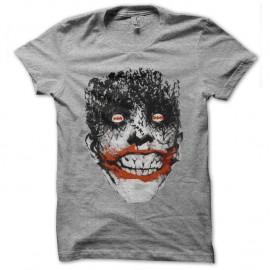 Shirt joker bat psycho gris pour homme et femme