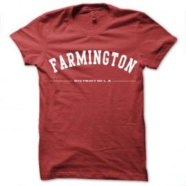 Shirt FARMINGTON rouge pour homme et femme