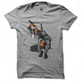 Shirt deathstroke gris pour homme et femme