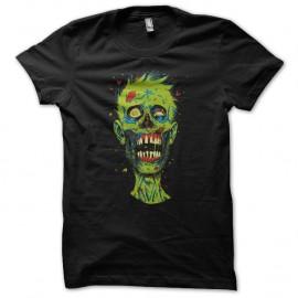 Shirt tete de zombie noir pour homme et femme