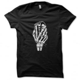 Shirt Dead Microphone noir pour homme et femme