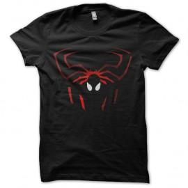 Shirt spiderman logo effets ombre noir pour homme et femme