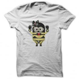 Shirt minions sadomaso blanc pour homme et femme