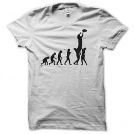 Shirt rugby evolution nouvelle version blanc pour homme et femme