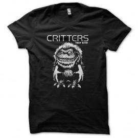 Shirt critters ils mordent noir pour homme et femme