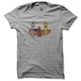 Shirt c3po captif gris pour homme et femme