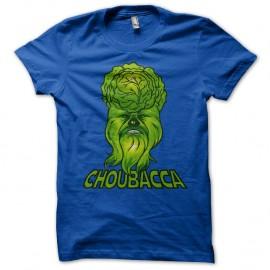 Shirt Choubacca bleu royal pour homme et femme