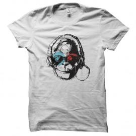 Shirt singe fonzd blanc pour homme et femme