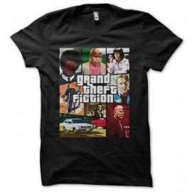 Shirt pulp fiction version GTA noir pour homme et femme