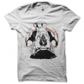 Shirt sons of the empire blanc pour homme et femme