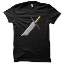 Shirt épée brisée noir pour homme et femme