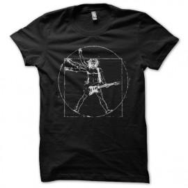 Shirt da vinci rock noir pour homme et femme