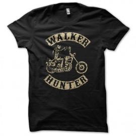 Shirt Daryl Dixon the walker hunter parodie SOA creme sur noir pour homme et femme