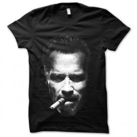 Shirt Arnold et son Cigare noir pour homme et femme