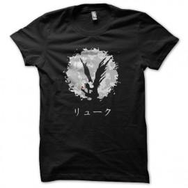 Shirt death note pomme noir pour homme et femme