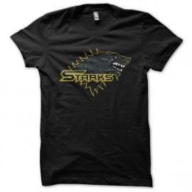 Shirt starks noir pour homme et femme