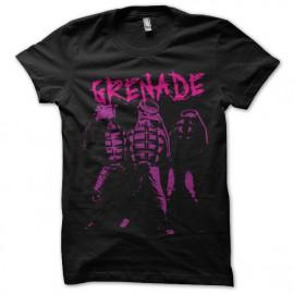 Shirt grenades swag noir pour homme et femme