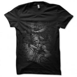 Shirt Sons Of Anarchy fight noir pour homme et femme
