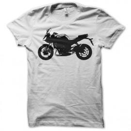 Shirt yamaha fz8 blanc pour homme et femme