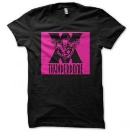Shirt thunderdome noir pour homme et femme
