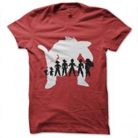 Shirt sangoku evolution gorille saiyan rouge pour homme et femme