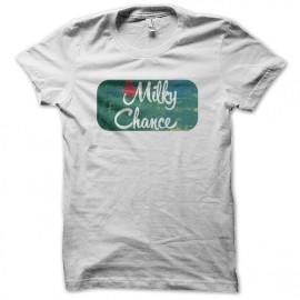 Shirt milky chance blanc pour homme et femme