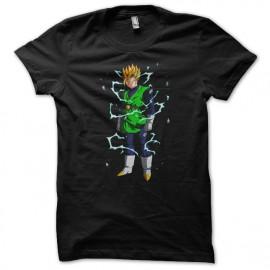 Shirt gohan guerrier intergalactique noir pour homme et femme