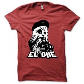 Shirt el che Chewbacca rouge pour homme et femme