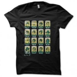 Shirt docteur who version simpson noir pour homme et femme