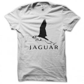 Shirt Jaguar blanc pour homme et femme