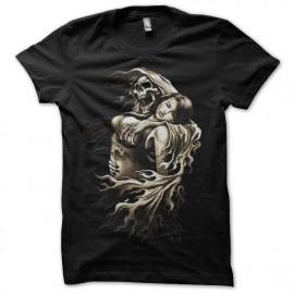 Shirt tatouage diablo noir pour homme et femme