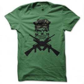Shirt m16 cross vert pour homme et femme