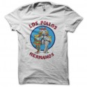 Shirt Breaking bad los pollos hermanos version originale blanc pour homme et femme