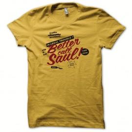 Shirt Breaking bad mytique better call saul jaune pour homme et femme