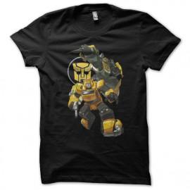 Shirt transformers bumblebee noir pour homme et femme