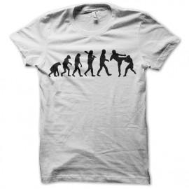 Shirt evolution free fight blanc pour homme et femme