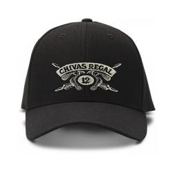 casquette Chivas regal brodée de couleur noire
