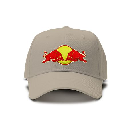 casquette red bull brod e de couleur beige. Black Bedroom Furniture Sets. Home Design Ideas