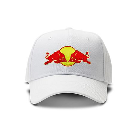 casquette red bull brod e de couleur blanche. Black Bedroom Furniture Sets. Home Design Ideas