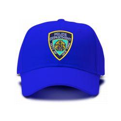 casquette POLICE NEW YORK CITY brodée de couleur bleu royal