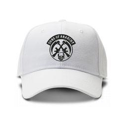 casquette SONS OF ANARCHY gang brodée de couleur blanche