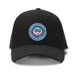 casquette cartman SOUTH PARK respect my autority brodée de couleur noire