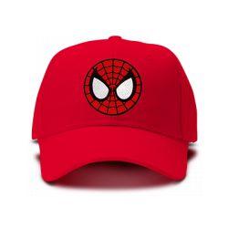 casquette SPIDERMAN brodée de couleur rouge